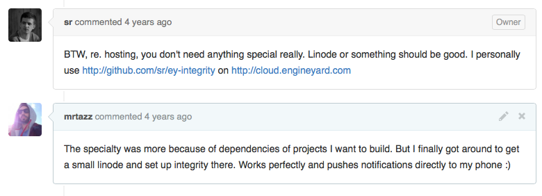 integrity pull request merged