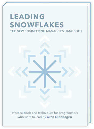 Leading Snowflakes book cover