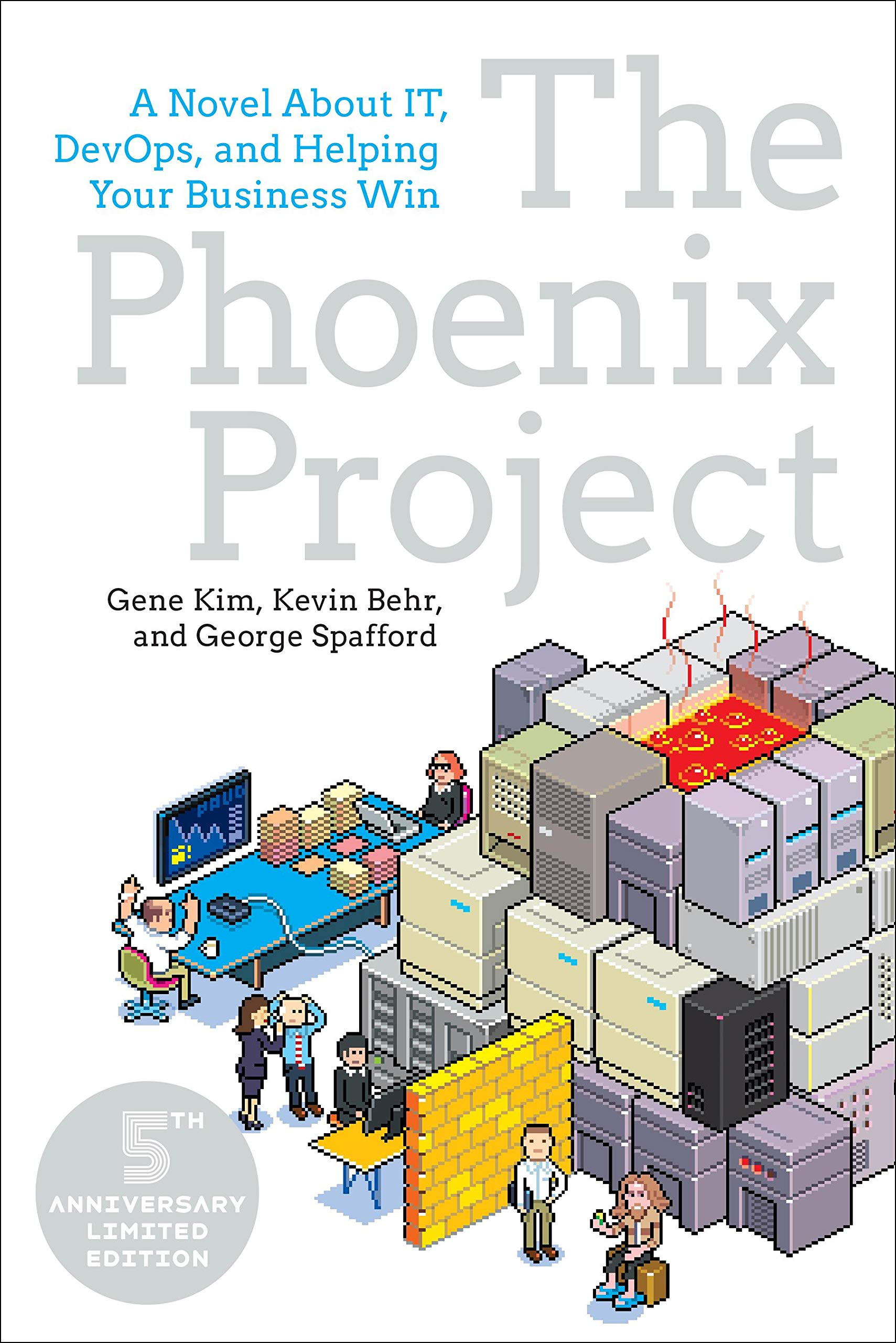 The Phoenix Project: A Novel About IT, DevOps, and Helping Your Business Win book cover